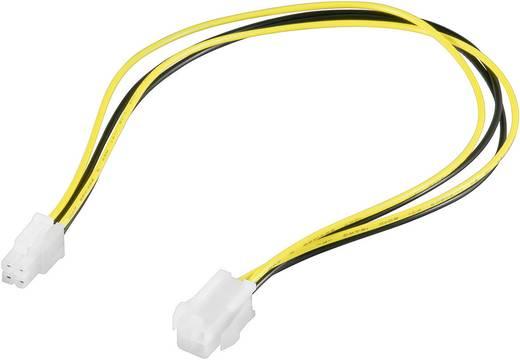 Alaplapi tápkábel, P4 tápcsatlakozó kábel hosszabbító, 0,37 m Goobay 993238