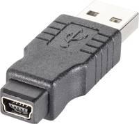 USB 2.0 átalakító, mini B alról A dugóra Goobay 50969 Goobay
