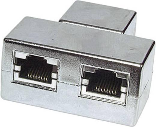 RJ45 Hálózat CAT 5e [2x RJ45 alj - 1x RJ45 alj] Fémes EFB Elektronik