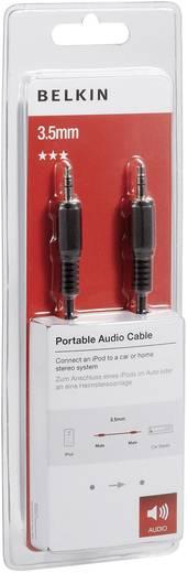 Jack audio csatlakozókábel [1x jack dugó 3,5 mm - 1x jack dugó 3,5 mm] 2 m, fekete Belkin