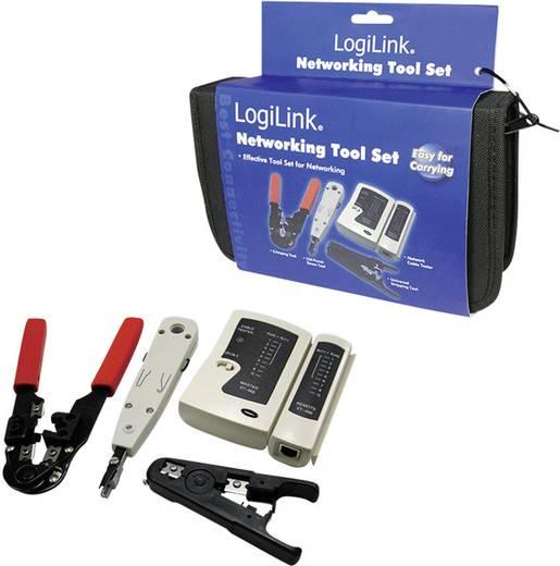 Hálózati kábel szerelő készlet, UTP krimpelő készlet LogiLink WZ0012