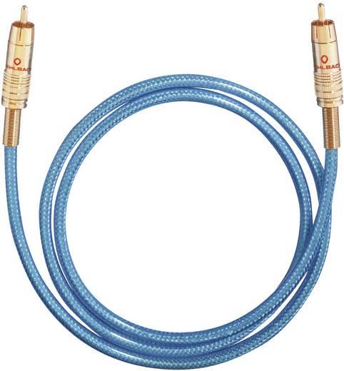 RCA digitális digitális Audio csatlakozókábel [1x RCA dugó - 1x RCA dugó] 0.5 m kék Oehlbach