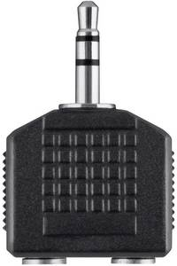 3,5 mm-es jack elosztó kábel, 10 cm, Belkin Belkin