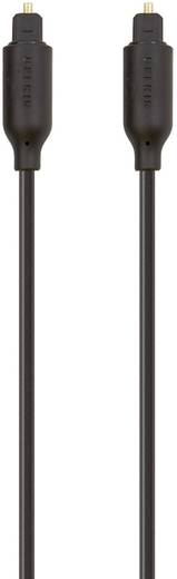 Digitális optikai audio kábel, Toslink dugó - dugó, 2 m, fekete, Belkin