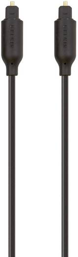 Digitális optikai audio kábel, Toslink dugó - dugó, 5 m, fekete, Belkin