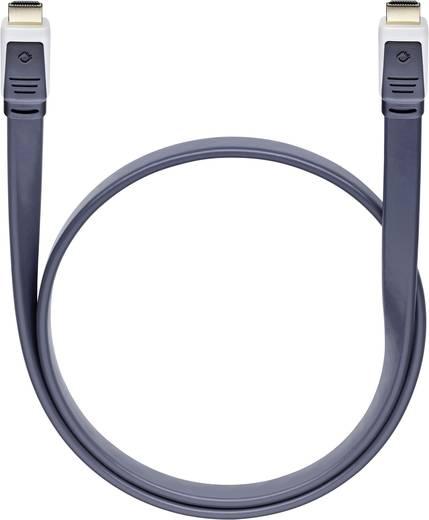 HDMI csatlakozókábel [1x HDMI dugó 1x HDMI dugó] 1.7 m antracit Oehlbach