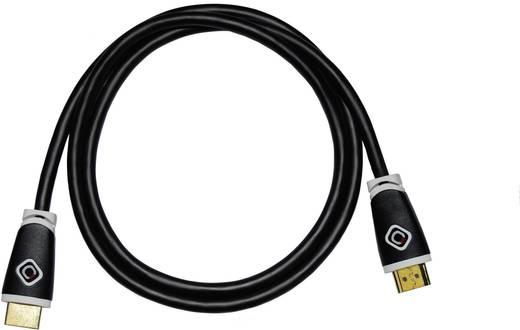 HDMI csatlakozókábel [1x HDMI dugó 1x HDMI dugó] 1.5 m fekete Oehlbach
