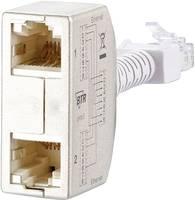 RJ45 Hálózat CAT 5 [2x RJ45 alj - 1x RJ45 dugó] 0 m Ezüst BTR Netcom 130548-03-E Metz Connect