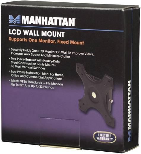 "LCD monitor fali tartó konzol, fix, VESA szabvány 30,48 cm - 56 cm (12"" – 22"") Manhattan 422840"