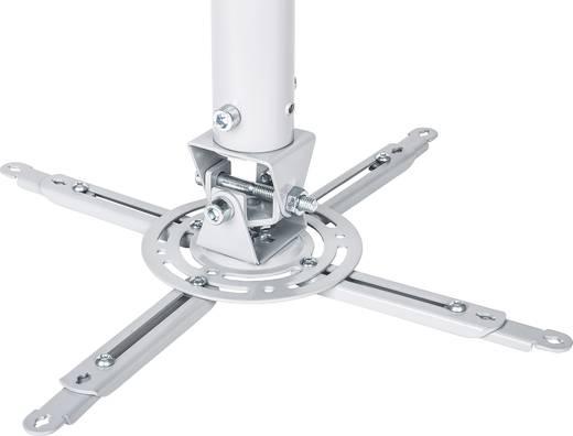 Mennyezeti projektor tartó konzol, dönthető, forgatható, max. távolság: 77 cm Manhattan 424851
