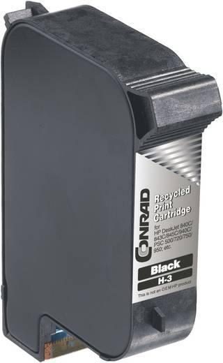 Nyomtatópatron Kompatibilis, H-3 helyettesíti HP 15-öt Fekete