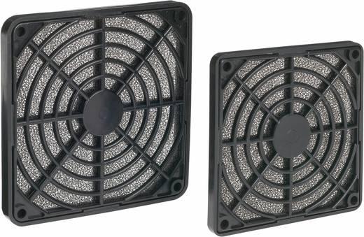 Ventilátor szűrő, 80 mm, fekete, Akasa 28513C48B