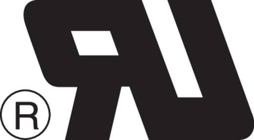 Beépíthető hálózati műszercsatlakozó aljzat, függőleges, 3 pól., 10 A, fekete, C13, ESKA Bulgin PX0695/15/28
