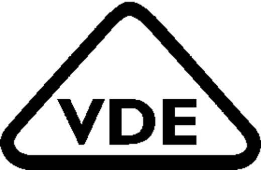 Hálózati csatlakozó dugó, hajlított, pólusszám: 3, 16 A, fekete, Adels-Contact AC 166 GST/ 3