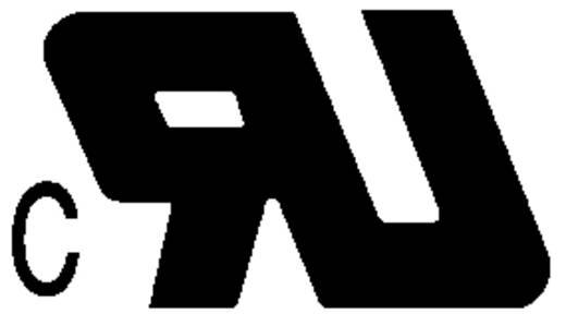 Beépíthető hálózati műszercsatlakozó dugó, függőleges, 3 pól., 10 A, fekete, C16, K&B 42R014121