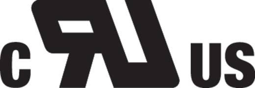 Hálózati csatlakozó alj, egyenes, pólusszám: 3, 16 A, fekete, WAGO 890-203