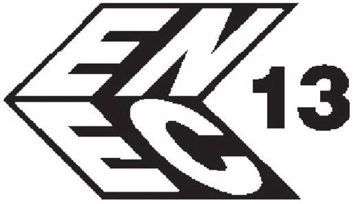 Beépíthető hálózati műszercsatlakozó dugó biztosítékkal, függőleges, 3 pól., 6,3 A, fekete, C14, Kaiser 750/ws
