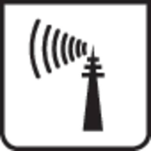 Vezeték nélküli időjárás állomás, rádiójel vezérelt órával, ezüst/szürke