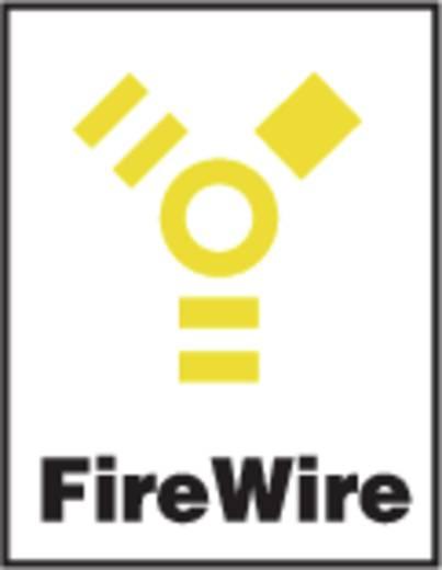 Neutrik firewire IEEE 1394 beépíthető alj, 6 pól., nikkel, NA 1394-6-W
