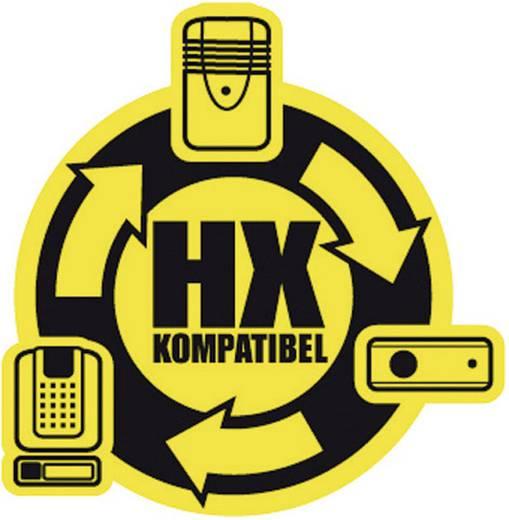 Rádiójel erősítő vezeték nélküli csengőhöz, 100 m, 433 MHz, fehér, HX, Heidemann 70377