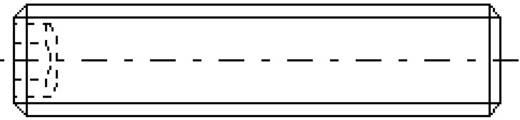 Toolcraft belső kulcsnyílású hernyócsavar, M4 x 8 mm, DIN 913, fekete, 20 db 886284