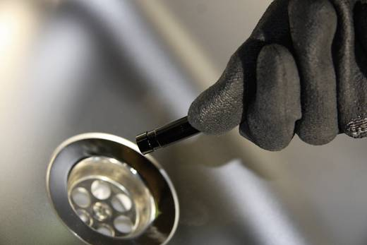 Kiegészítő flexibilis kamera a Voltcraft BS-200XW/250XWSD/220XIP endoszkóphoz, Ø 9,8 mm, 3 m