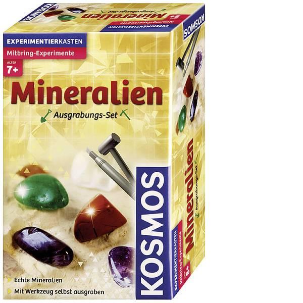 Kit di apprendimento natura - PRODOTTO IN LINGUA TEDESCA Kosmos Kit di scavi Minerali 630447 Classe di età da 7 anni -