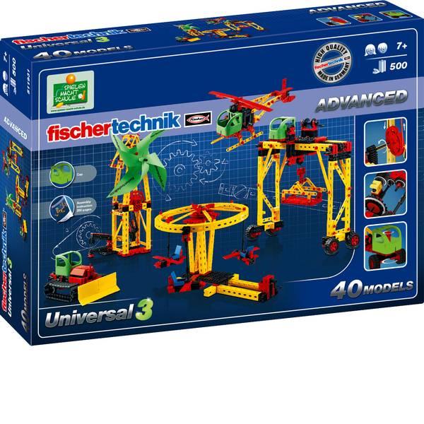Kit esperimenti e pacchetti di apprendimento - Kit esperimenti fischertechnik Universal 3 511931 da 7 anni -