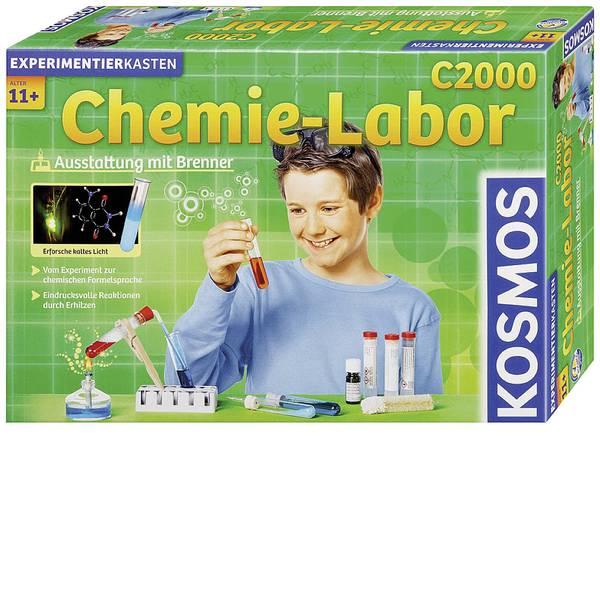 Kit di apprendimento chimica - Kosmos Chemielabor C2000 640125 Kit esperimenti da 11 anni -