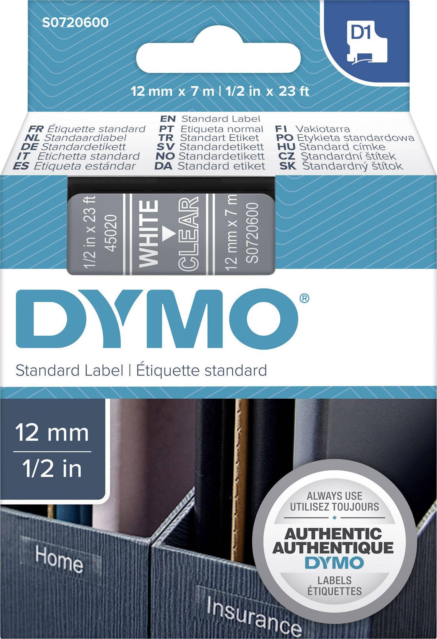 Cassetta nastro DYMO D1 45020