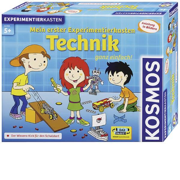 Kit esperimenti e pacchetti di apprendimento - Kosmos 602239 Mein erster Experimentierkasten Technik Kit esperimenti da 5 anni -