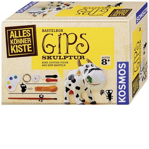 Kit esperimenti e pacchetti di apprendimento - Kosmos 604066 Gips-Skulptur Scatola per il fai da te da 8 anni -