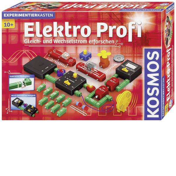 Kit esperimenti e pacchetti di apprendimento - Kosmos 620813 Elektro Profi Kit esperimenti da 10 anni -