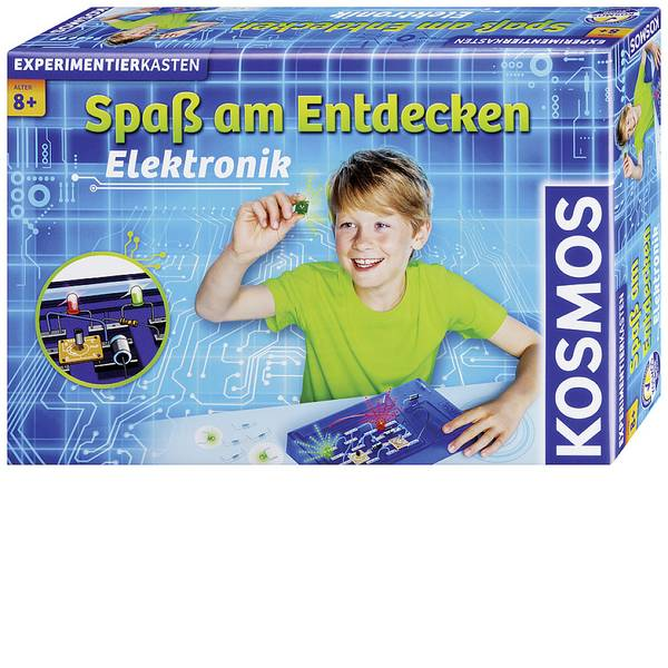 Kit di apprendimento chimica - Kosmos Elektronik 661021 Kit esperimenti da 8 anni -