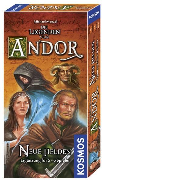Kit esperimenti e pacchetti di apprendimento - Kosmos 692261 Die Legenden von Andor - Neue Helden Erweiterung Giochi di strategia da 10 anni -