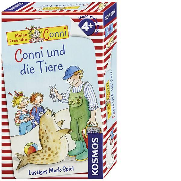 Kit esperimenti e pacchetti di apprendimento - Kosmos 710989 Conni und die Tiere Gioco per famiglia da 4 anni -