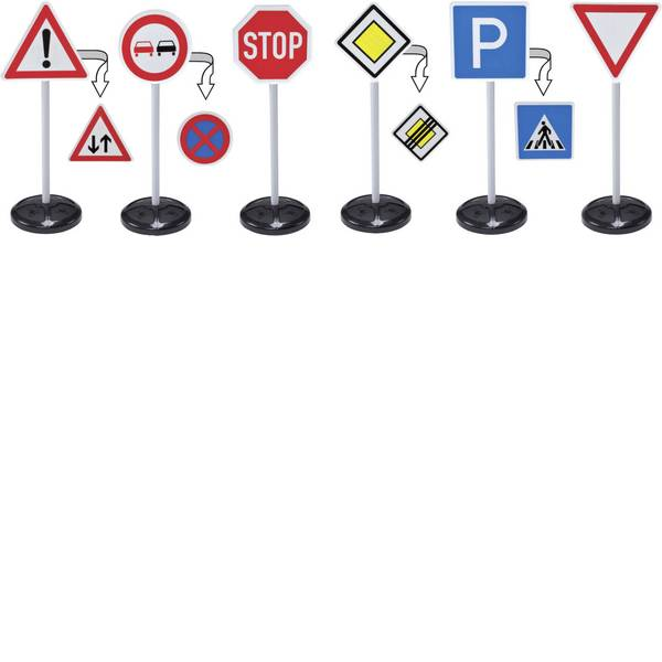 Semafori e segnali - BIG sign mega-Verkehrszeichen-Set -