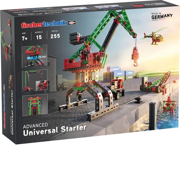 Kit esperimenti e pacchetti di apprendimento - ADVANCED Universal Starter fischertechnik - kit da costruzione -
