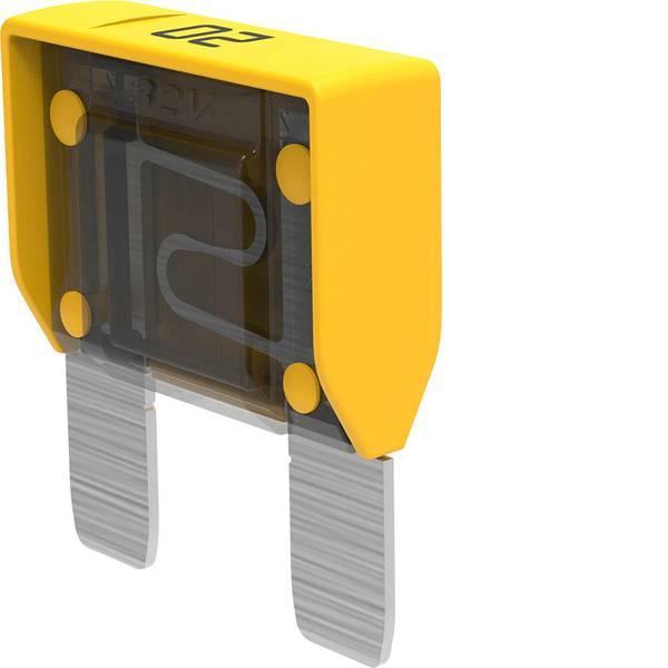 Fusibili per auto - Maxi fusibile piatto 20 A Giallo MTA MAXIVAL 20 A Yellow 06.00900 1 pz. -