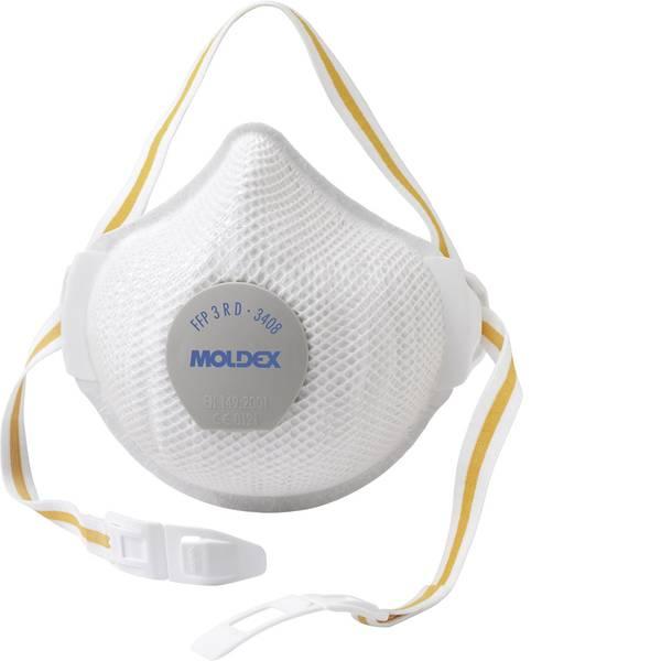 Maschere per polveri fini - Moldex 3408 340801 Mascherina antipolvere con valvola FFP3 D 1 pz. -