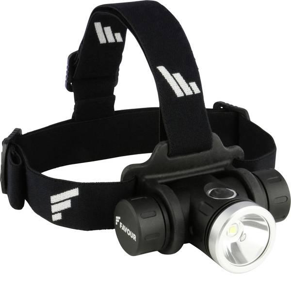 Lampade da testa - Favour Protech H1217 LED Lampada frontale a batteria ricaricabile 630 lm 16 h 270FAHEADH1217 -