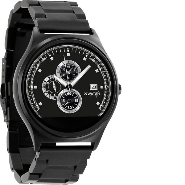 Dispositivi indossabili - X-WATCH QIN XW Prime II DARK STEEL Smartwatch Nero -