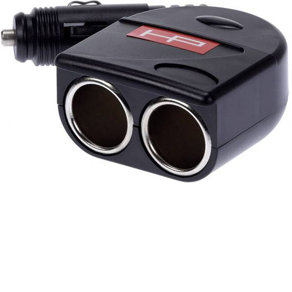 Accessori per presa accendisigari - HP Autozubehör Spina doppia presa accendisigari Portata massima corrente=10 A -