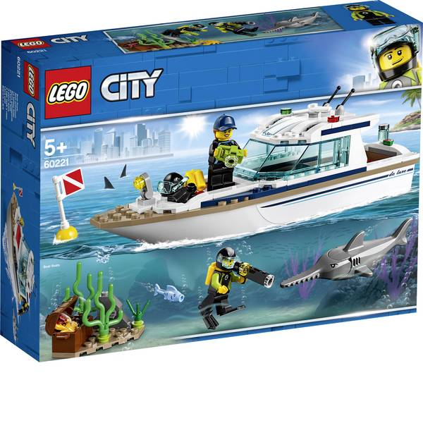 LEGO® City - LEGO® CITY 60221 Yacht a immersione -