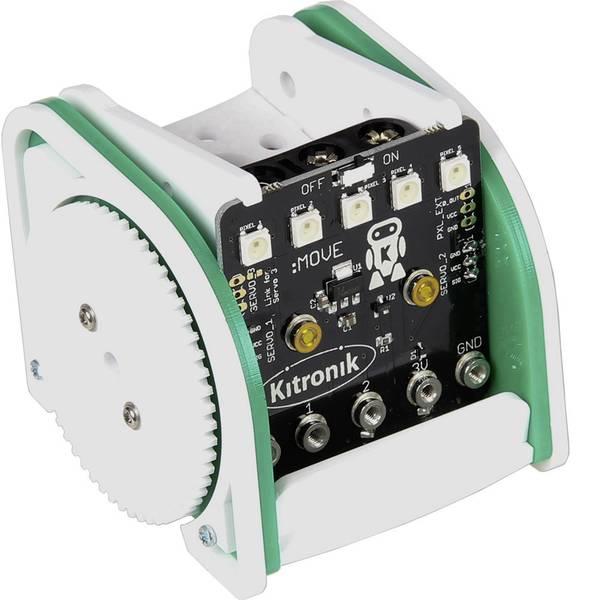 Robot in kit di montaggio - MAKERFACTORY Robot supporto mobile Buggy Modello (kit/modulo): KIT da costruire -