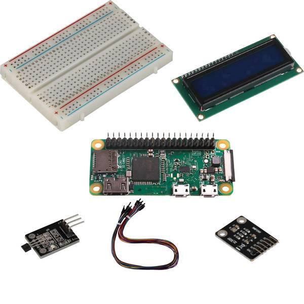 Schede di sviluppo e Single Board Computer - Raspberry Pi® Zero WH Zero Sensor Set 512 MB 1 x 1.0 GHz incl. sensori, incl. cavo di alimentazione, incl. custodia,  -