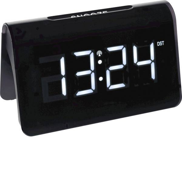 Sveglie - TFA 60.2543.02 Radiocontrollato Sveglia Nero Tempi di allarme 1 -
