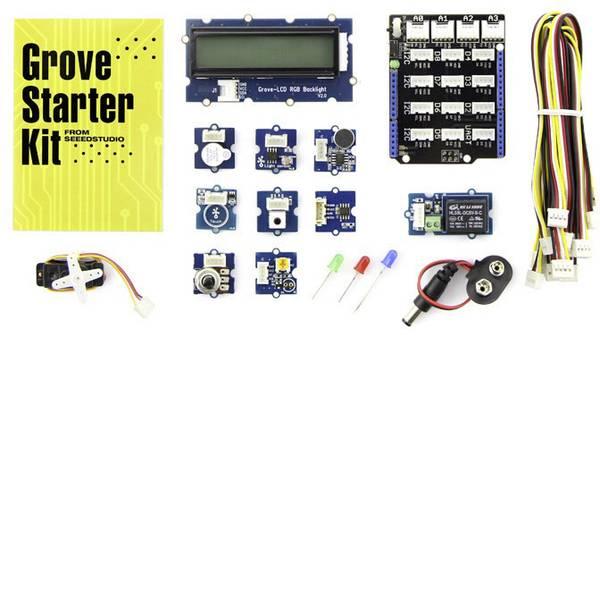 Kit e schede microcontroller MCU - Starter kit compatibili Seeed Studio Adatto per (scheda): Arduino -