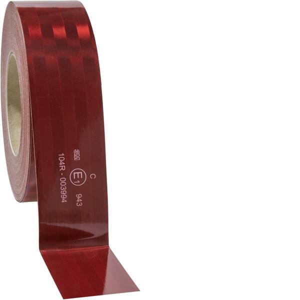 Nastri catarifrangenti - Segnalazione avvertimento microprismatico 3M 943-72 743884 Rosso (riflettente) 1 Rotolo(i) (L x L) 50 m x 51 mm Per  -