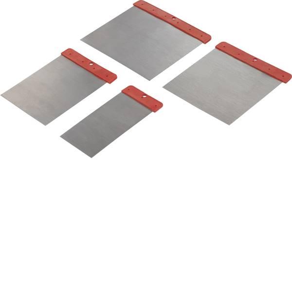 Strumenti speciali per auto - Raschietto in acciaio al carbonio con impugnatura in plastica rossa Basetech BT-1882845 -
